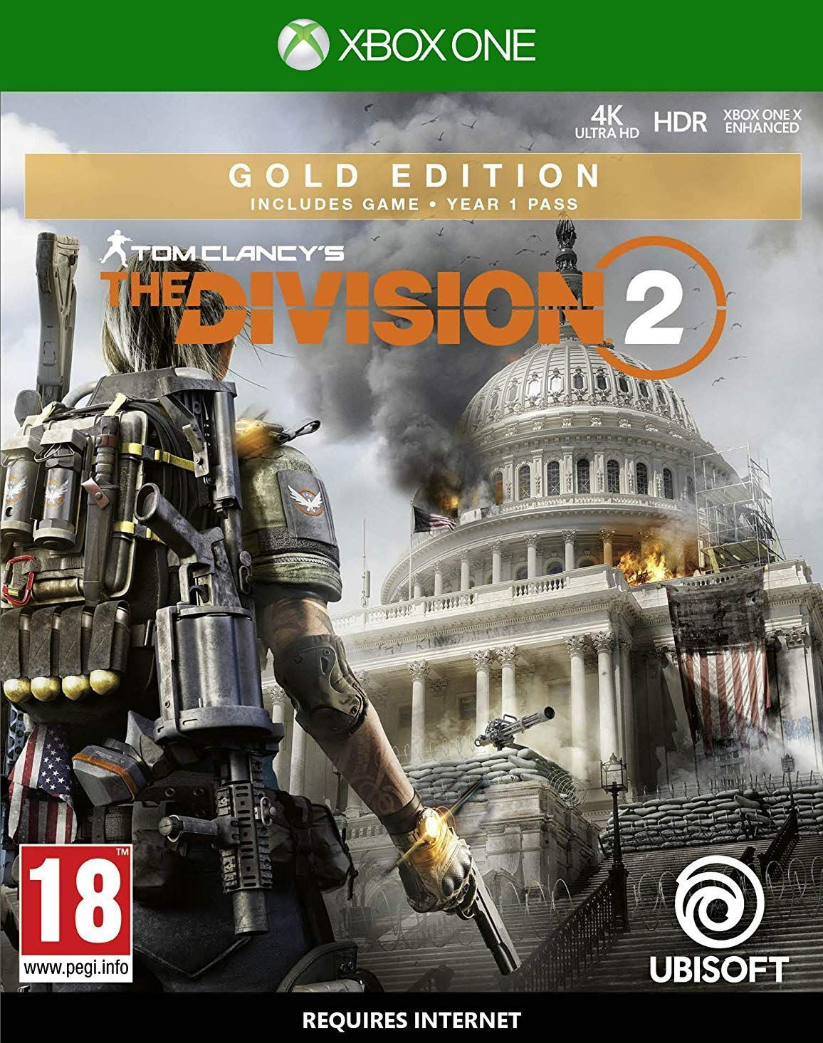 Tom Clancy's The Division 2 Gold Edition XBOX