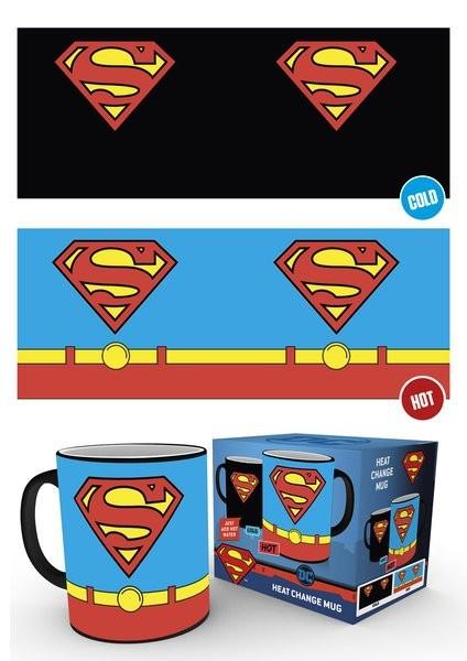 DC COMICS Superman Costume spalvą keičiantis puodukas