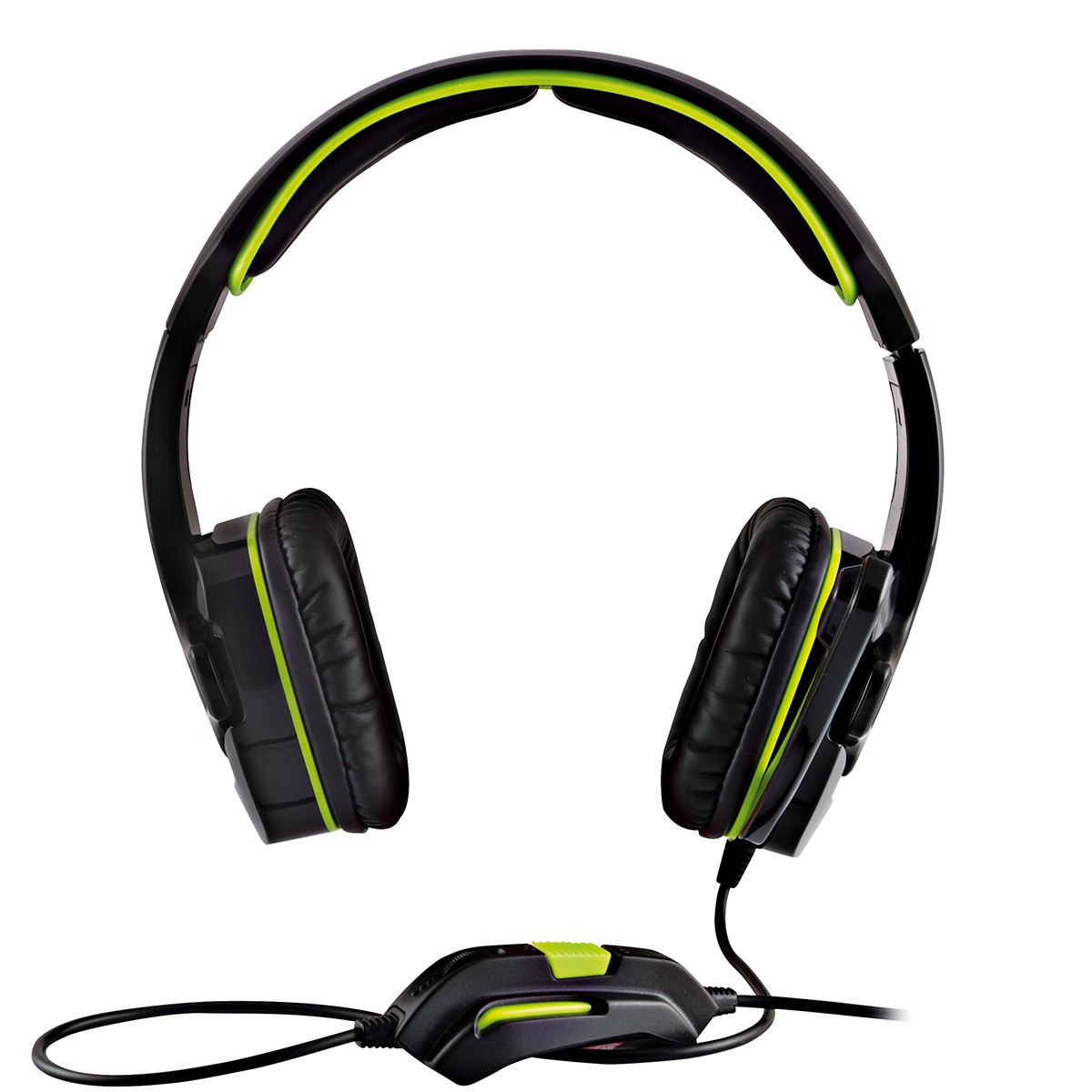 MODECOM ALIEN MC-829 Black/Green gamers headphones