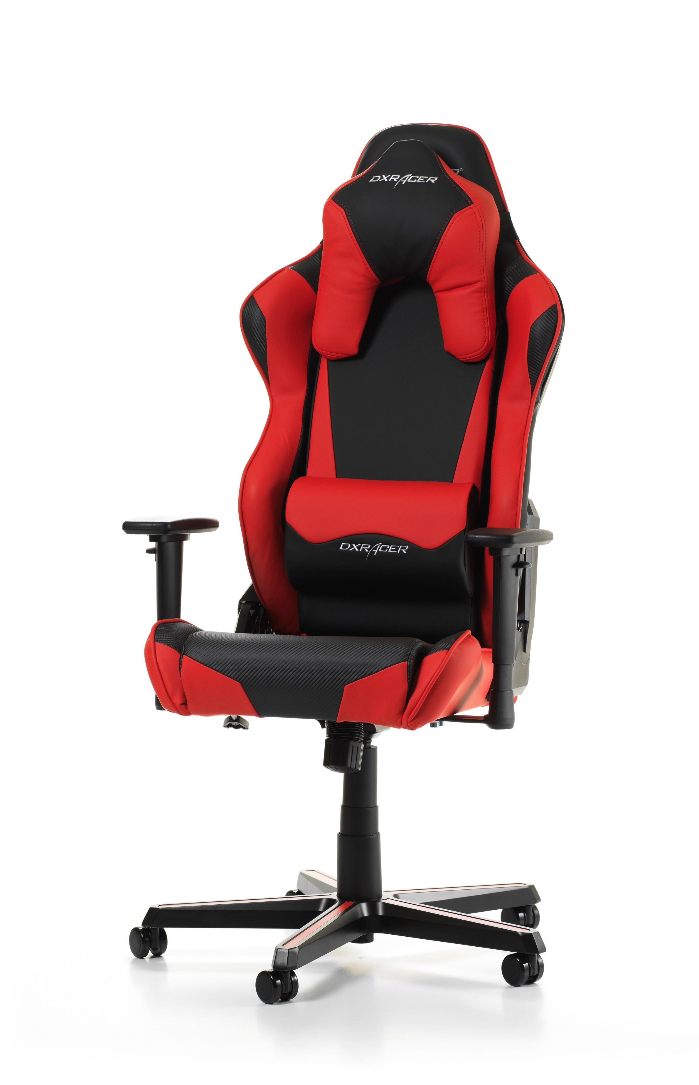 DXRACER RACING SHIELD SERIES R1-NR RED ergonominė kėdė