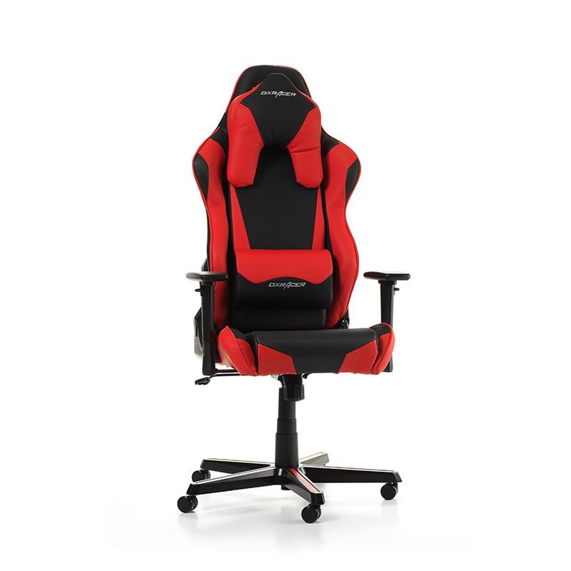 DXRACER RACING SHIELD SERIES R1-NR raudona ergonominė kėdė