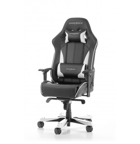 DXRACER KING SERIES K57-NW WHITE GAMING CHAIR