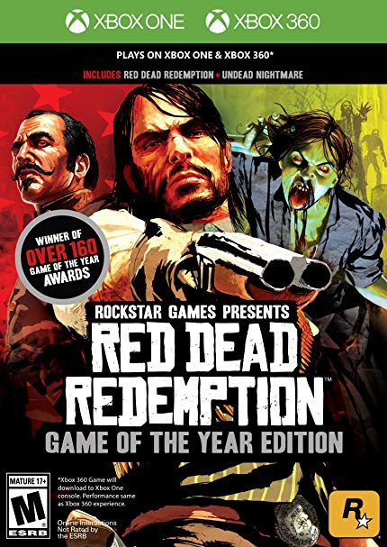 Red Dead Redemption: Game of The Year Edition XBOX
