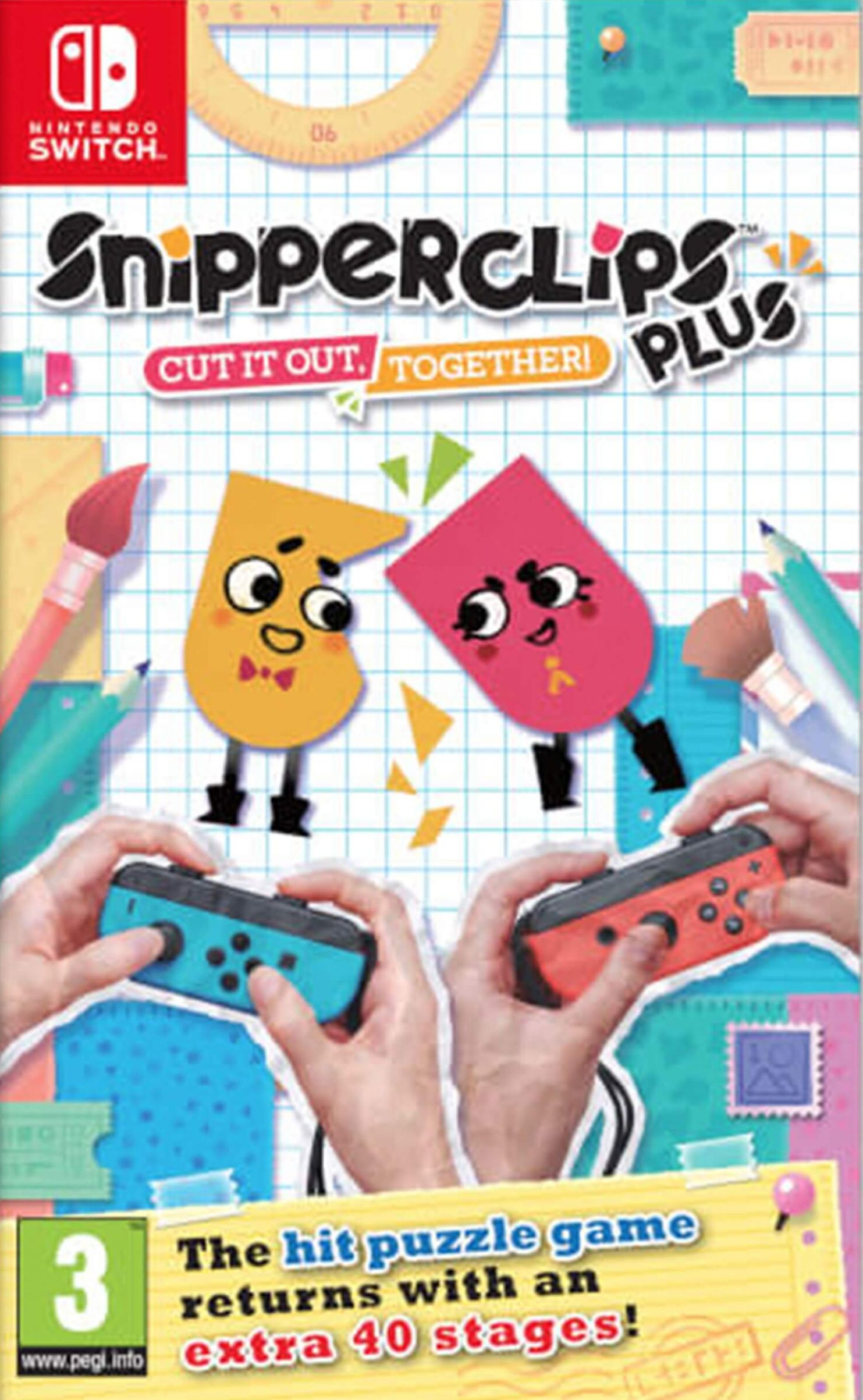 Snipperclips Plus: Cut it out Together! XBOX