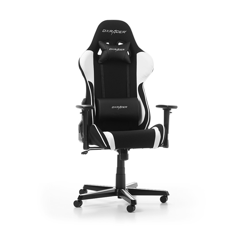 DXRACER FORMULA SERIES F11-NW white fabric gaming chair