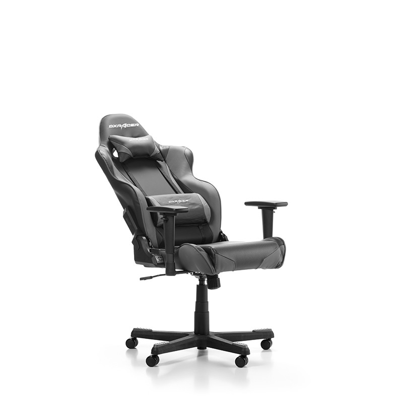 DXRACER RACING SERIES R001-NG pilka ergonominė kėdė
