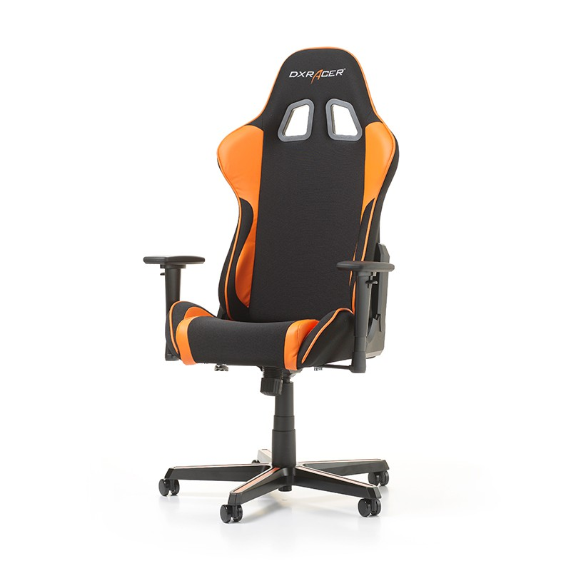 DXRACER FORMULA SERIES F11-NO oranžinė ergonominė kėdė (medžiaga+PU)