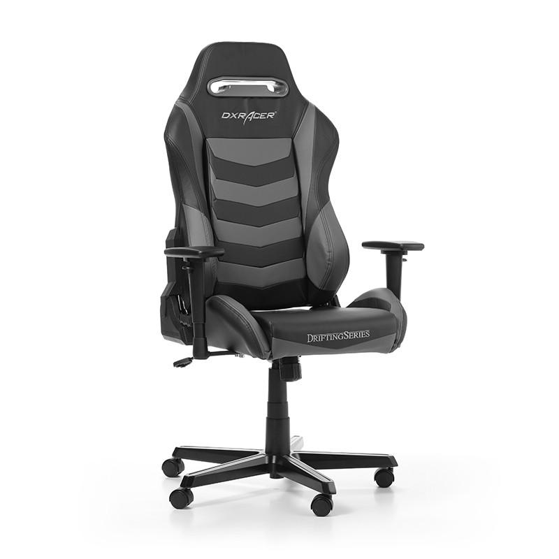 DXRACER DRIFTING SERIES D166-NG pilka ergonominė kėdė