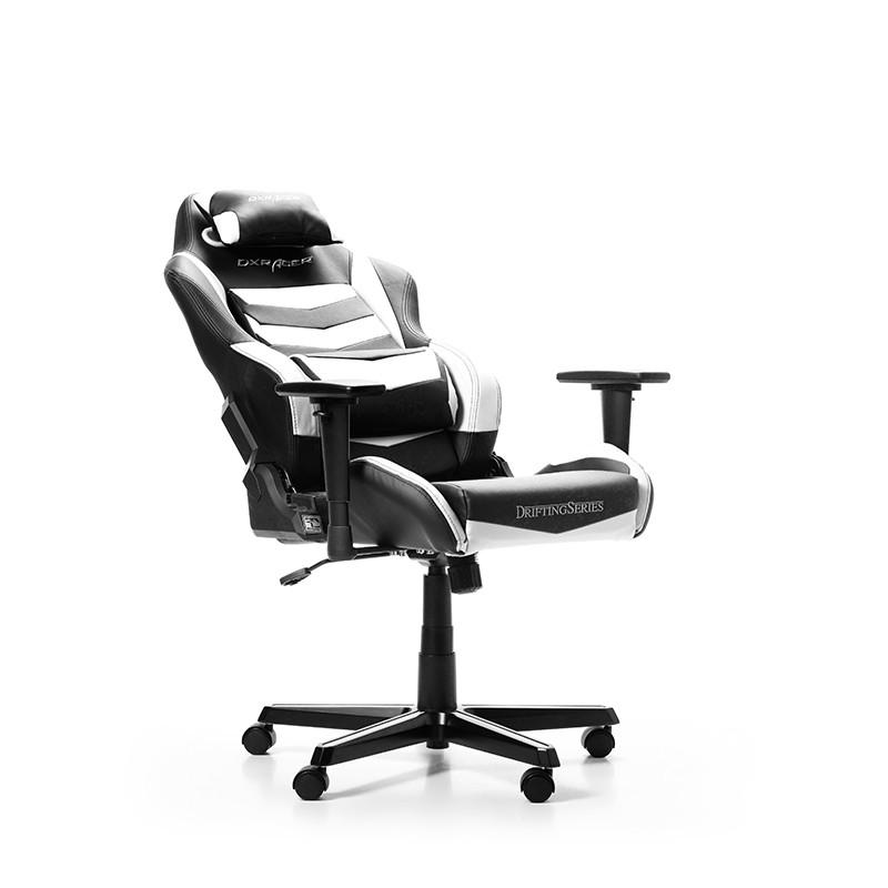 DXRACER DRIFTING SERIES D166-NW balta ergonominė kėdė
