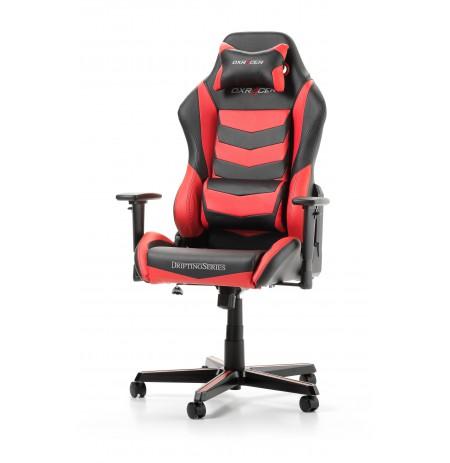 DXRACER DRIFTING SERIES D166-NR raudona ergonmominė kėdė