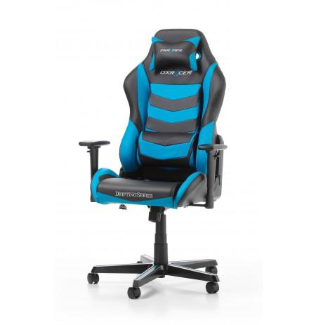 DXRACER DRIFTING SERIES D166-NB mėlyna ergonmominė kėdė