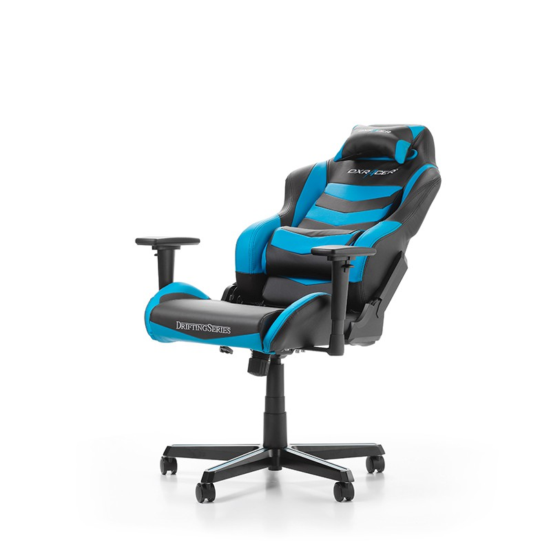 DXRACER DRIFTING SERIES D166-NB BLUE GAMING CHAIR