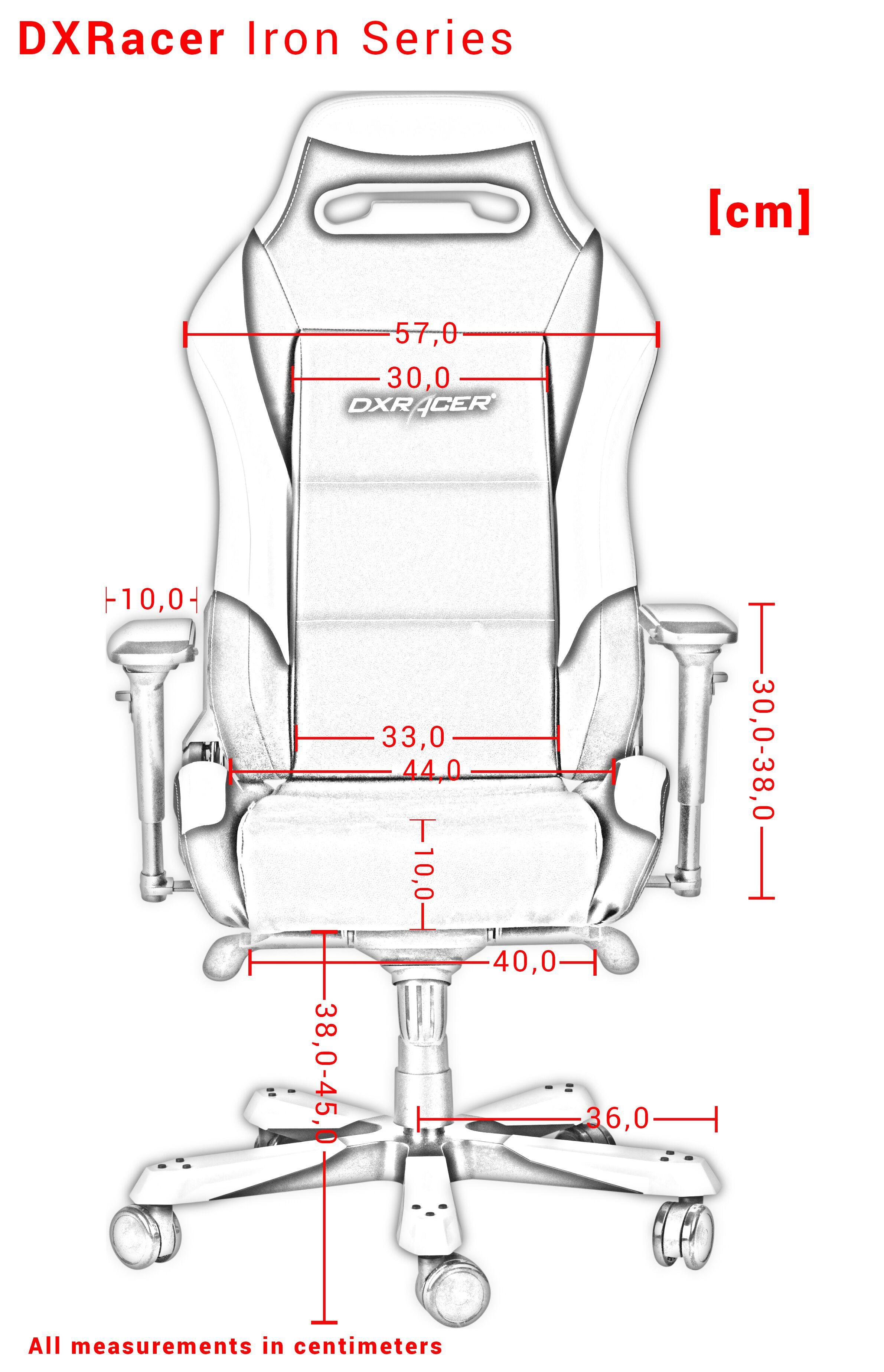 DXRACER IRON SERIES I166-NE GREEN GAMING CHAIR
