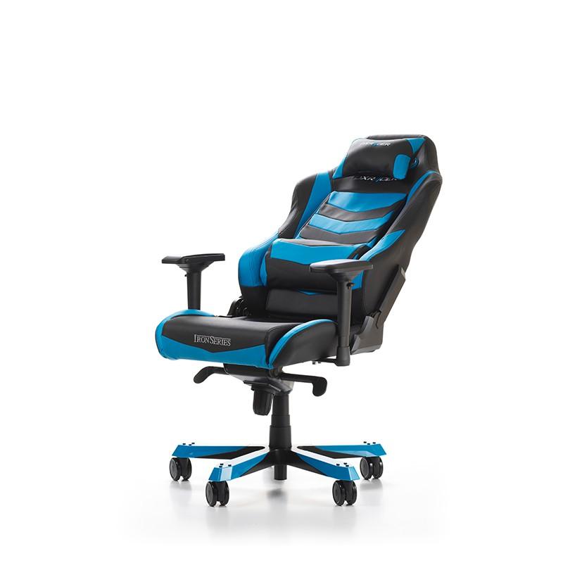 DXRACER IRON SERIES I166-NB mėlyna ergonominė kėdė