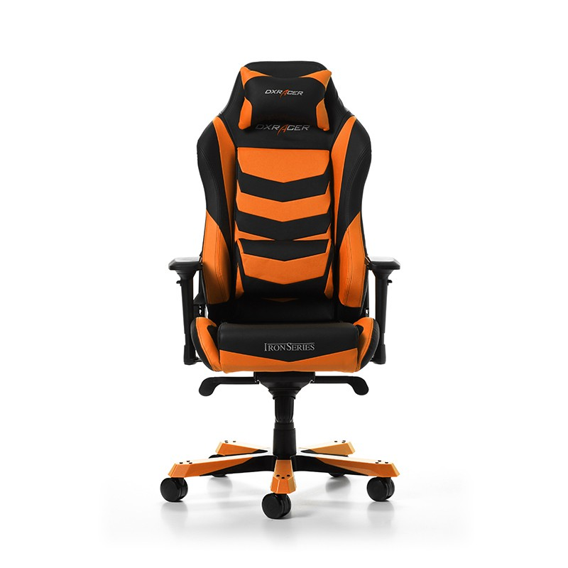DXRACER IRON SERIES I166-NO ORANGE GAMING CHAIR