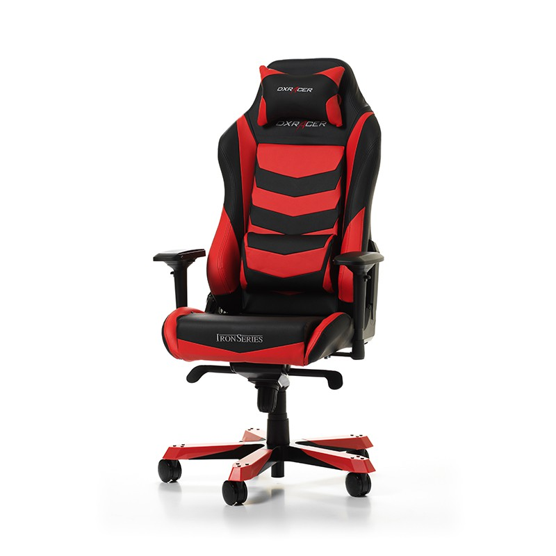 DXRACER IRON SERIES I166-NR raudona ergonominė kėdė