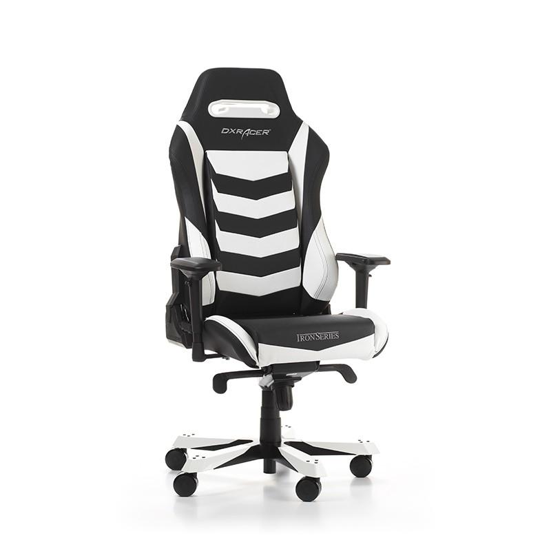 DXRACER IRON SERIES I166-NW balta ergonominė kėdė