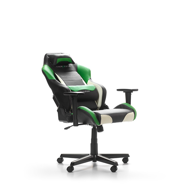 DXRACER DRIFTING SERIES D61-NWE GREEN WHITE GAMING CHAIR