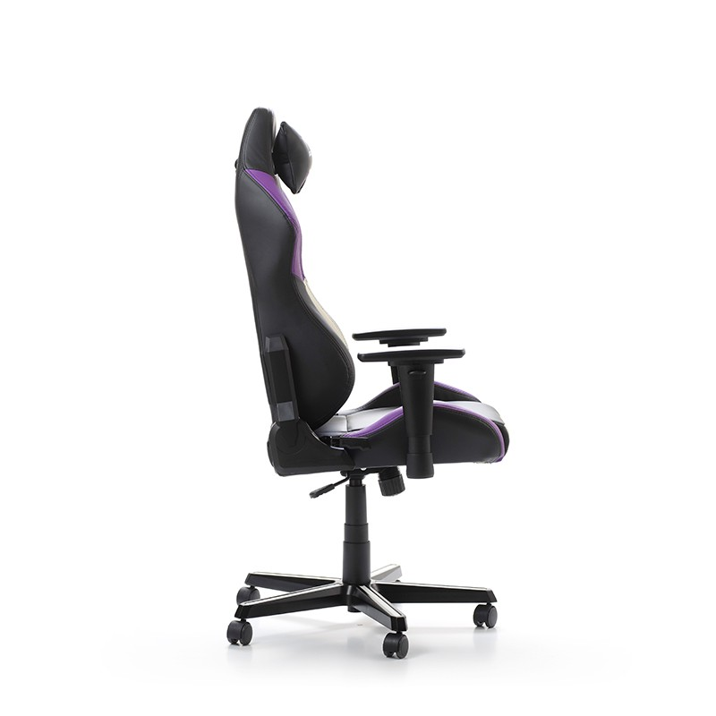 DXRACER DRIFTING SERIES D61-NWV VIOLET WHITE GAMING CHAIR