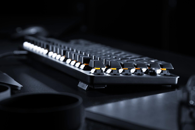 Razer BlackWidow Lite mechaninė klaviatūra (Orange switch, US)