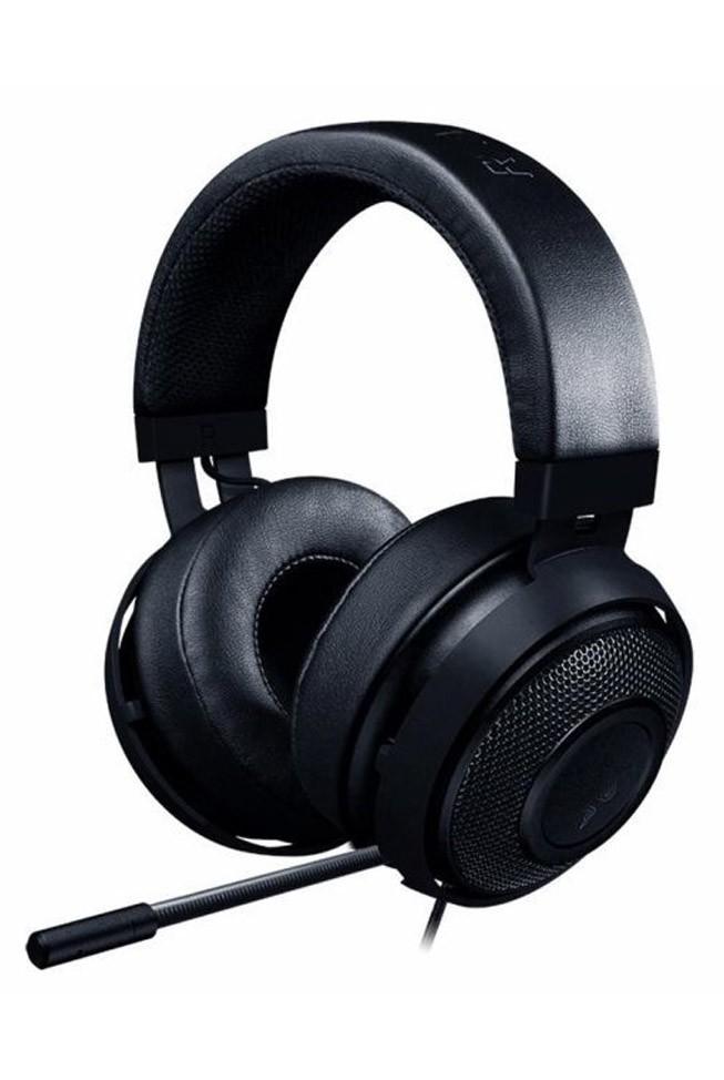 RAZER KRAKEN Multi-Platform juodos laidinės ausinės su mikrofonu   3.5mm