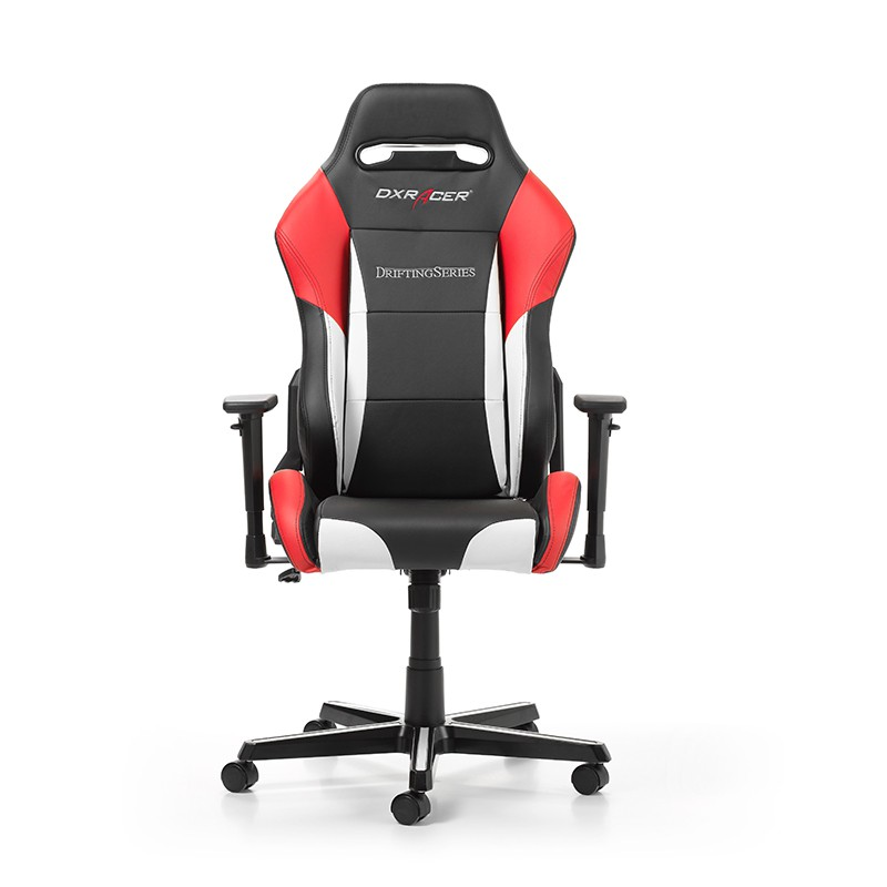 DXRACER DRIFTING SERIES D61-NWR balta raudona ergonominė kėdė