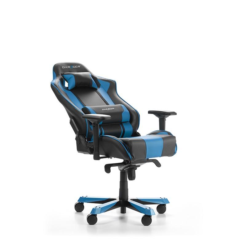 DXRACER KING SERIES K06-NB mėlyna ergonominė kėdė