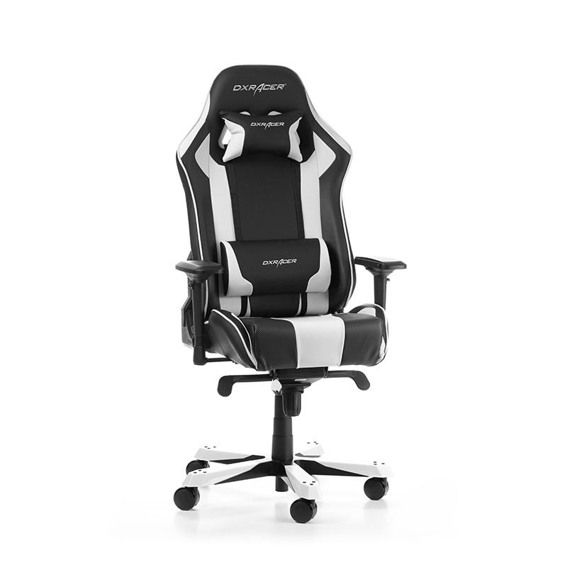 DXRACER KING SERIES K06-NW balta ergonominė kėdė