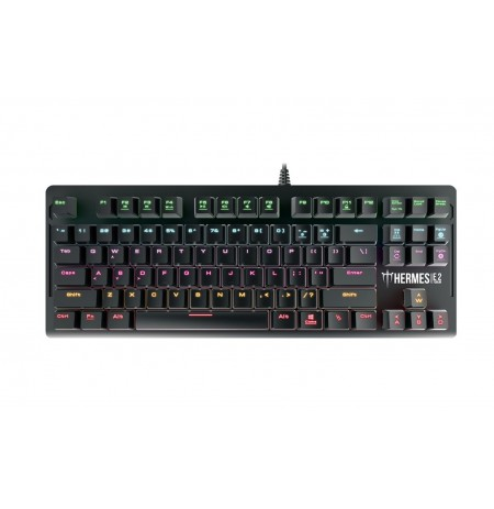Gamdias HERMES E2 7COLOR, Gaming, US, Mechanical, RGB LED light Yes (7 colors), Wired, Black