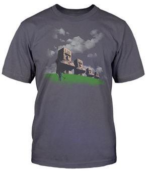 Minecraft Statue Premium T-Shirt (Large)