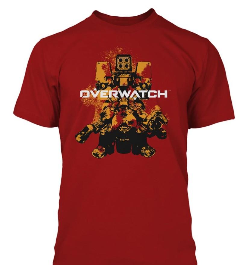 Overwatch Build Em Up Premium T-Shirt (Small)