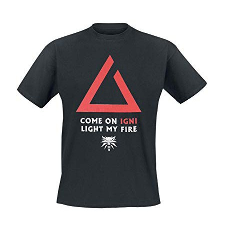 The Witcher 3 Igni Light My Fire Premium T-Shirt (Small)