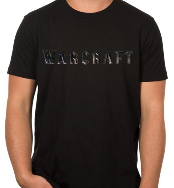 Warcraft Movie Warcraft Logo Premium T-Shirt (Small)