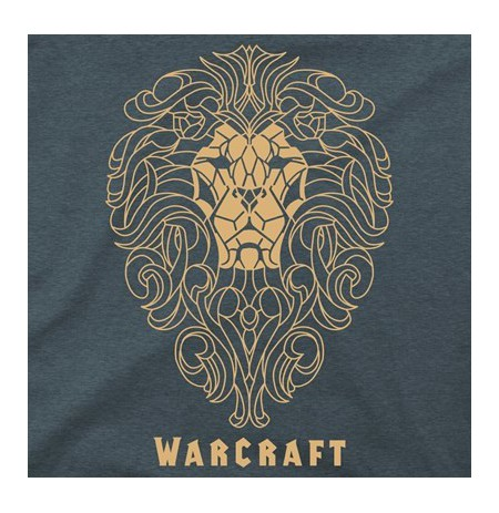 Warcraft Movie Alliance Filigree Premium T-Shirt (Medium)