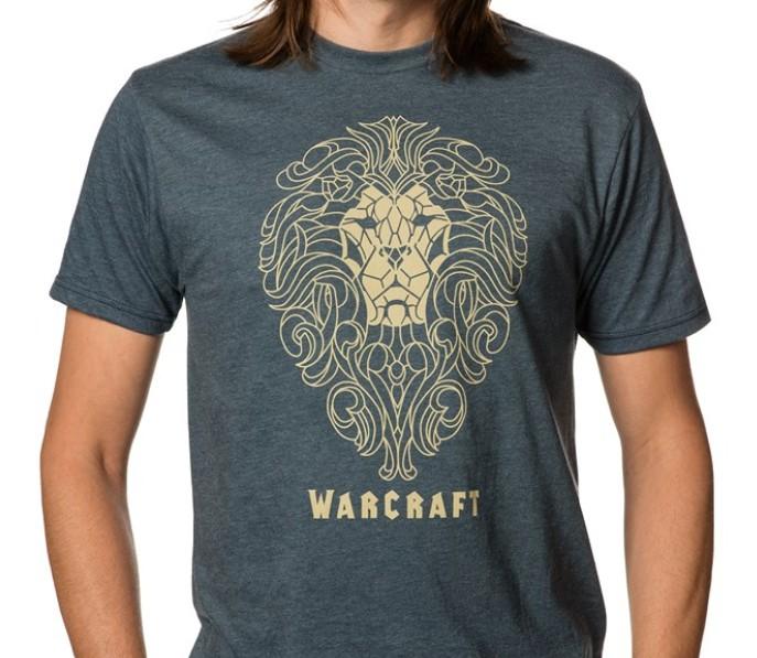 Warcraft Alliance Filigree Premium marškinėliai (Medium)