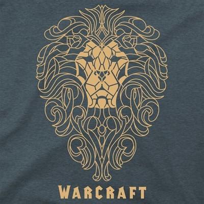 Warcraft Movie Alliance Filigree Premium T-Shirt (Medium)
