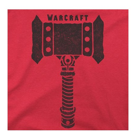Warcraft Movie Doomhammer Premium T-Shirt (Large)