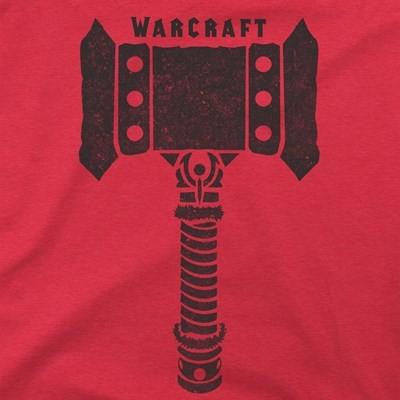 Warcraft Movie Doomhammer Premium T-Shirt (Large)