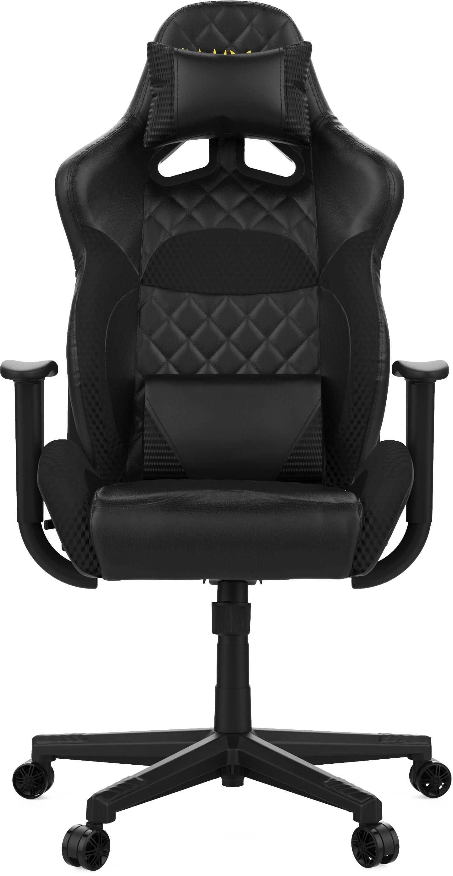 GAMDIAS ZELUS E1 L juoda ergonominė kėdė