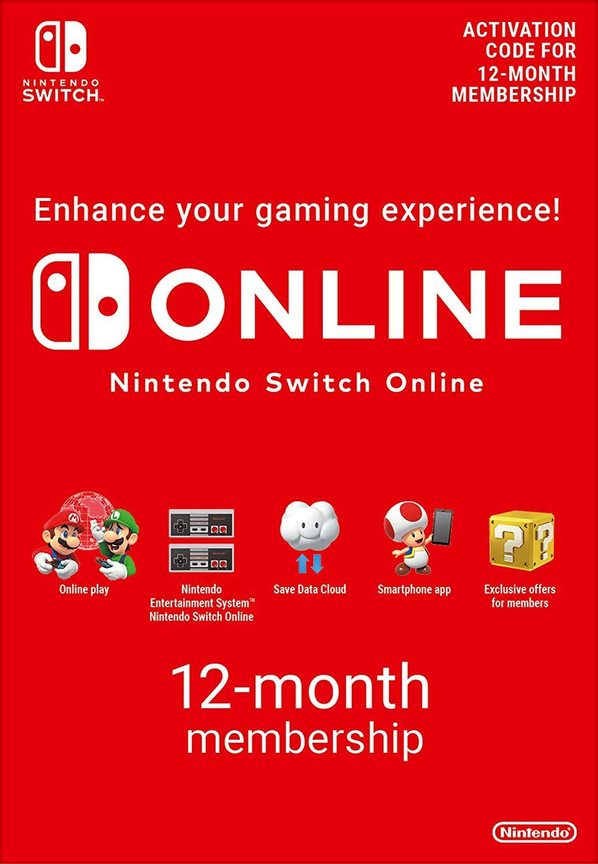 Nintendo Switch ONLINE 12mėn narystė