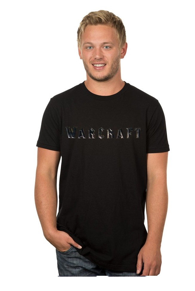 Warcraft Warcraft Logo Premium T-Shirt (Large)