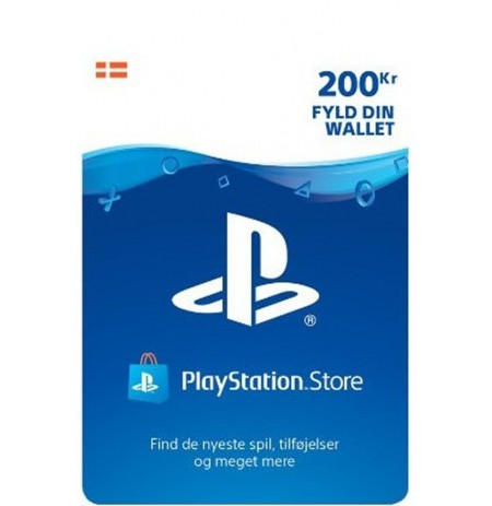 Playstation Network Card 200 DKK (Danija)