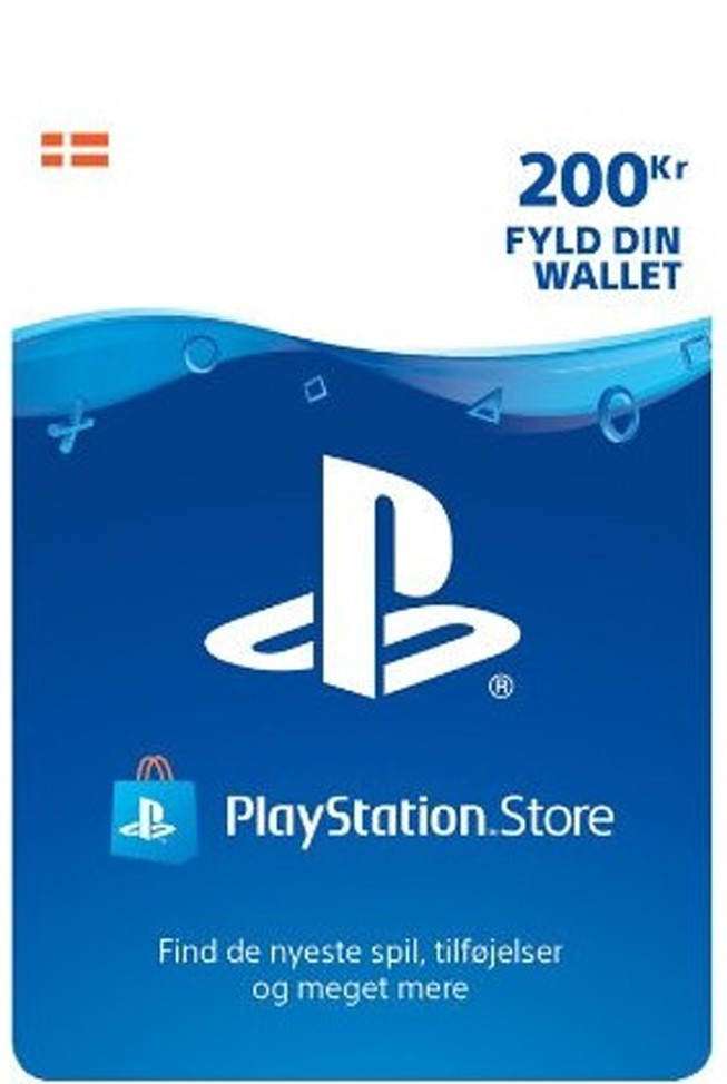 Playstation Network Card 200 DKK (Denmark)