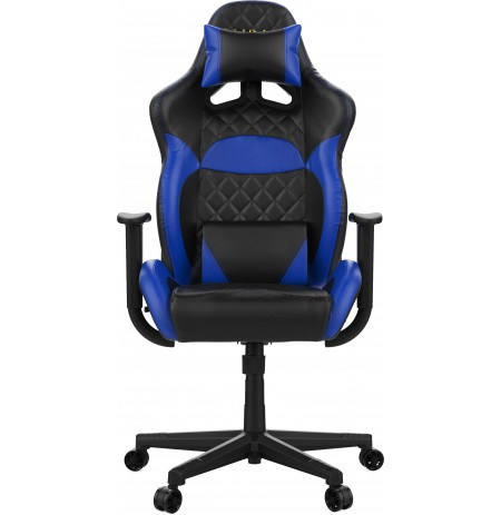 GAMDIAS ZELUS E1 L juoda-mėlyna ergonominė kėdė
