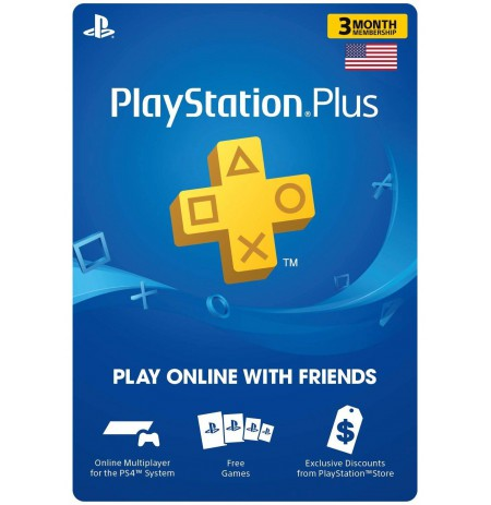 Playstation PLUS Card 90D (JAV)