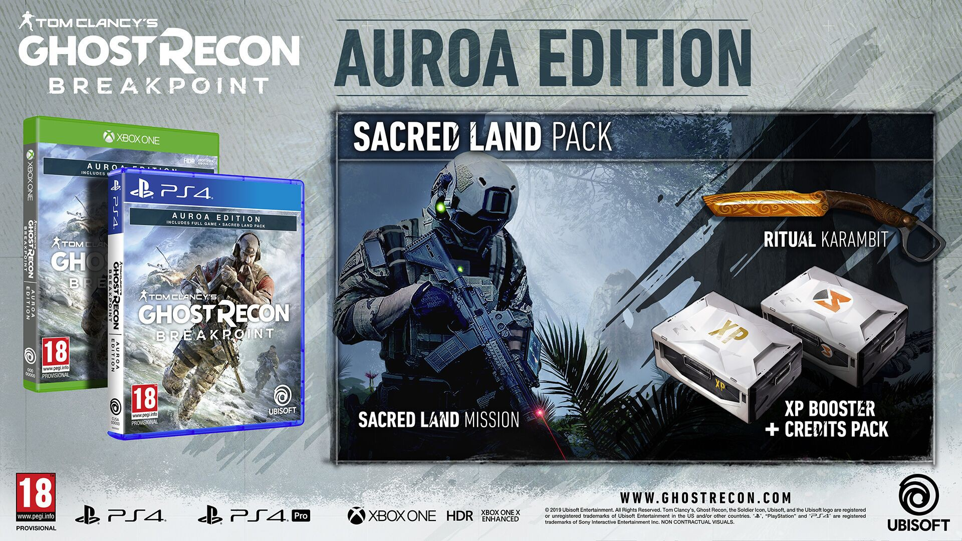 Tom Clancy's Ghost Recon Breakpoint AURORA edition + BETA