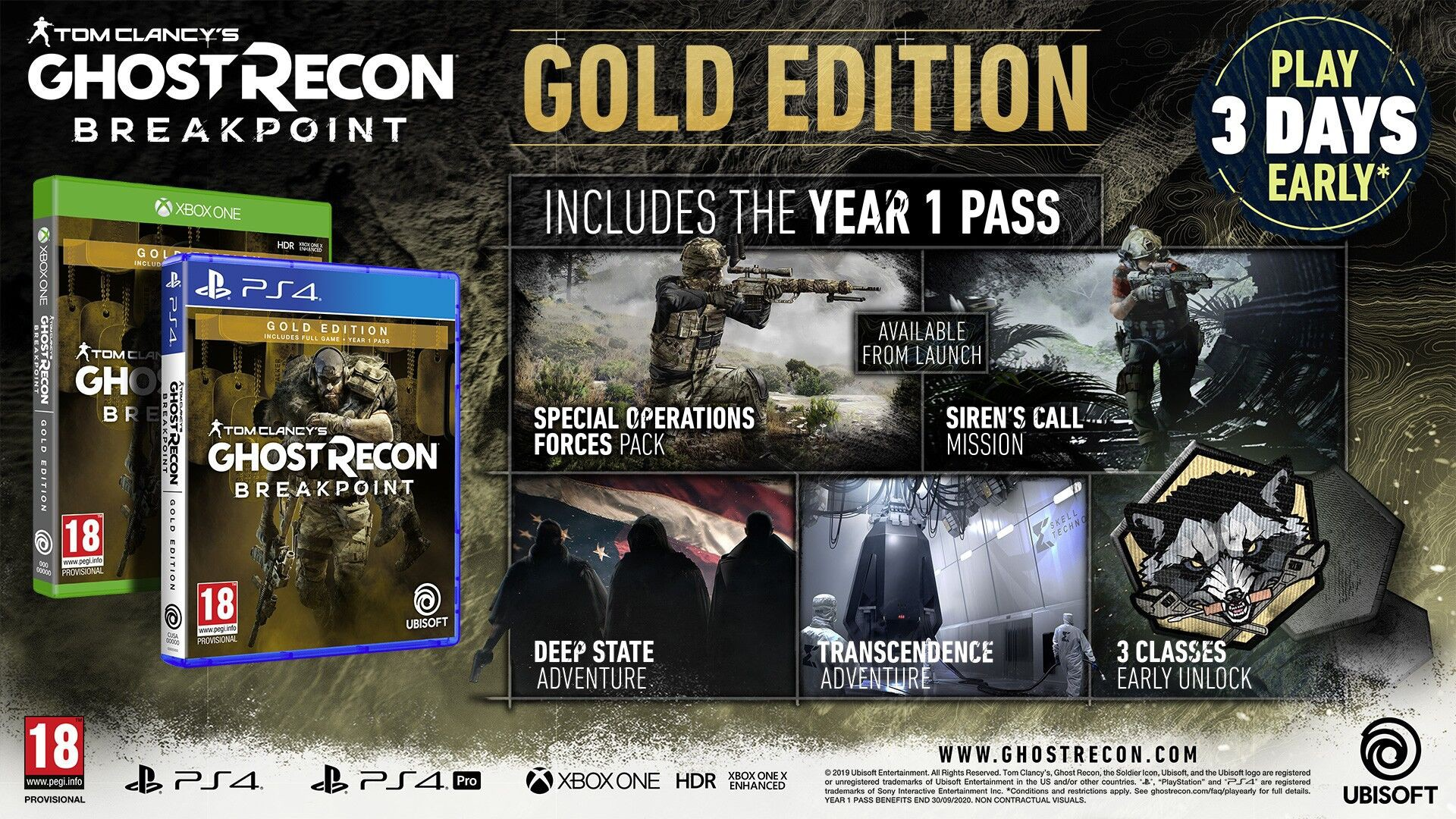 Tom Clancy's Ghost Recon Breakpoint GOLD edition + BETA