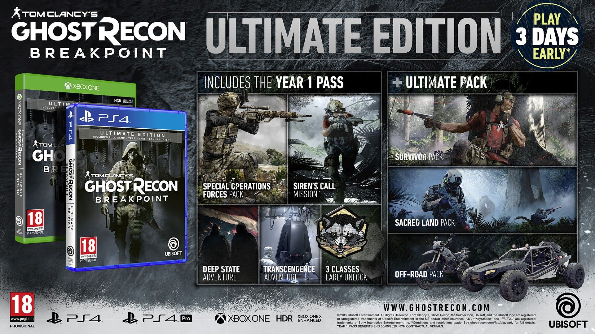 Tom Clancy's Ghost Recon Breakpoint ULTIMATE edition + BETA