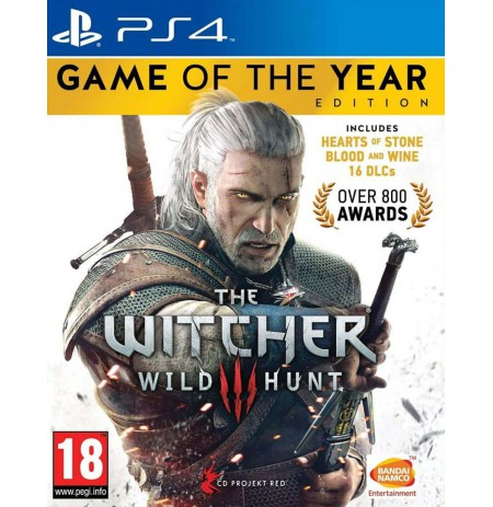 The Witcher 3: Wild Hunt GOTY PS4