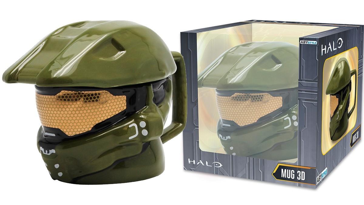 HALO 3D puodukas